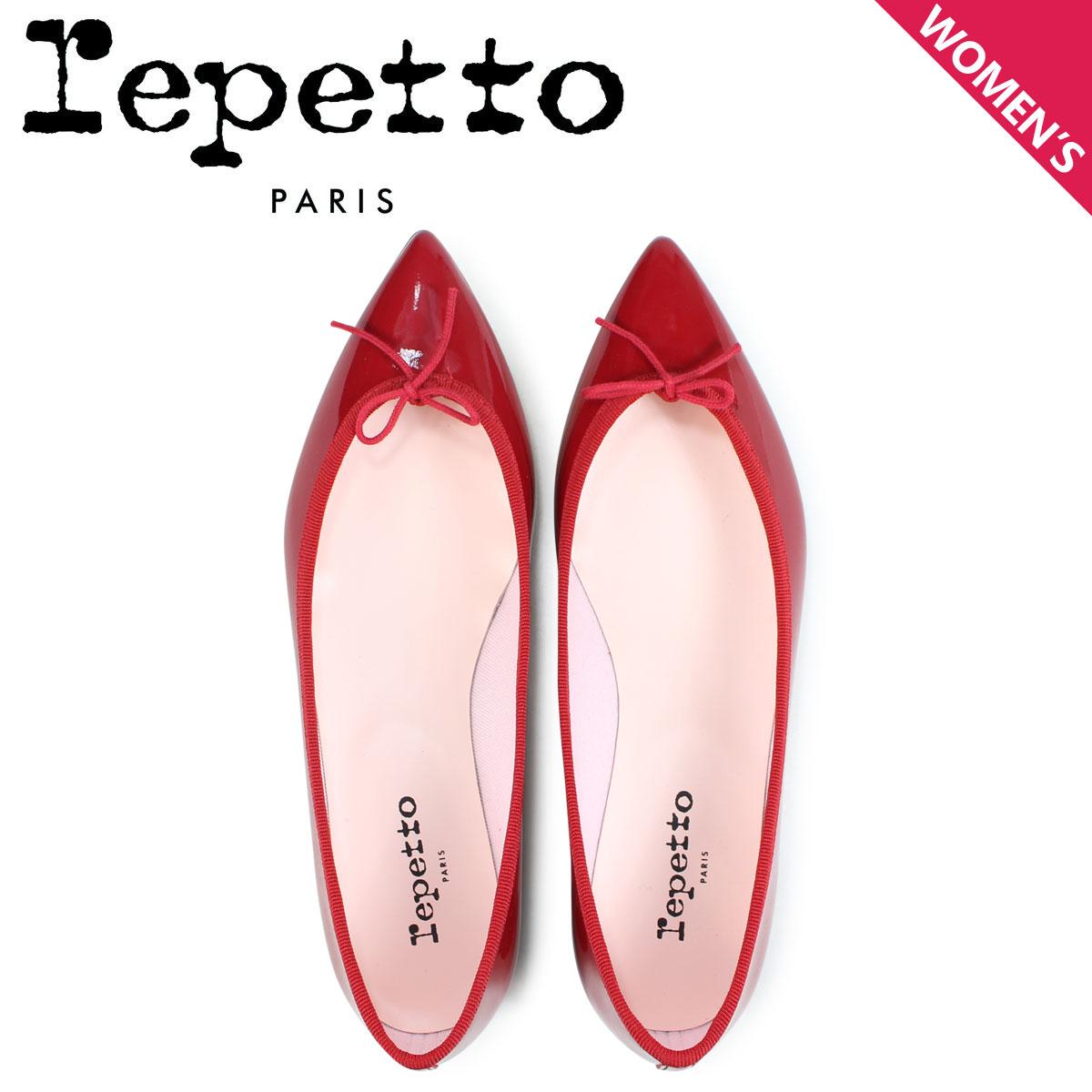 レペット Repetto バレエシューズ ブリジット パンプス レディース BRIGITTE BALLERINA レッド V1556-550