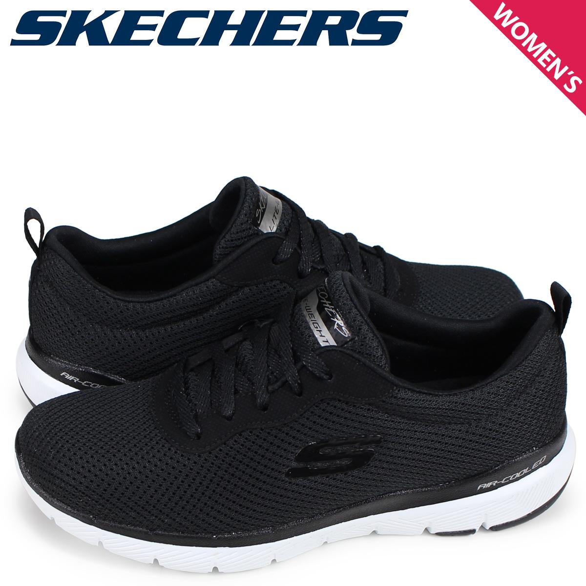 Skechers Womens Flex Appeal 3.0 First Insight Black