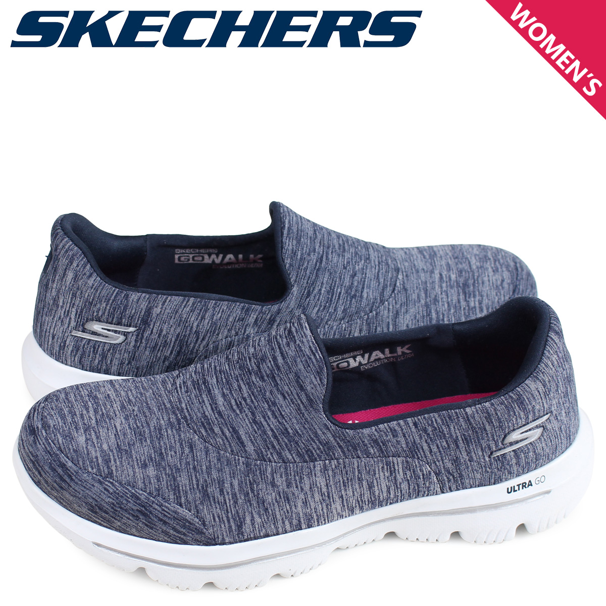 skechers navy go walk