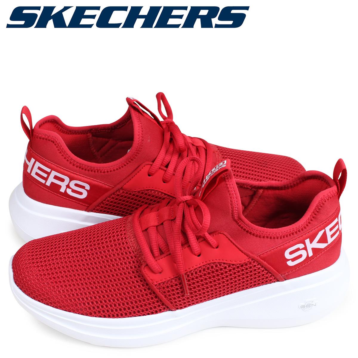 skechers go run red
