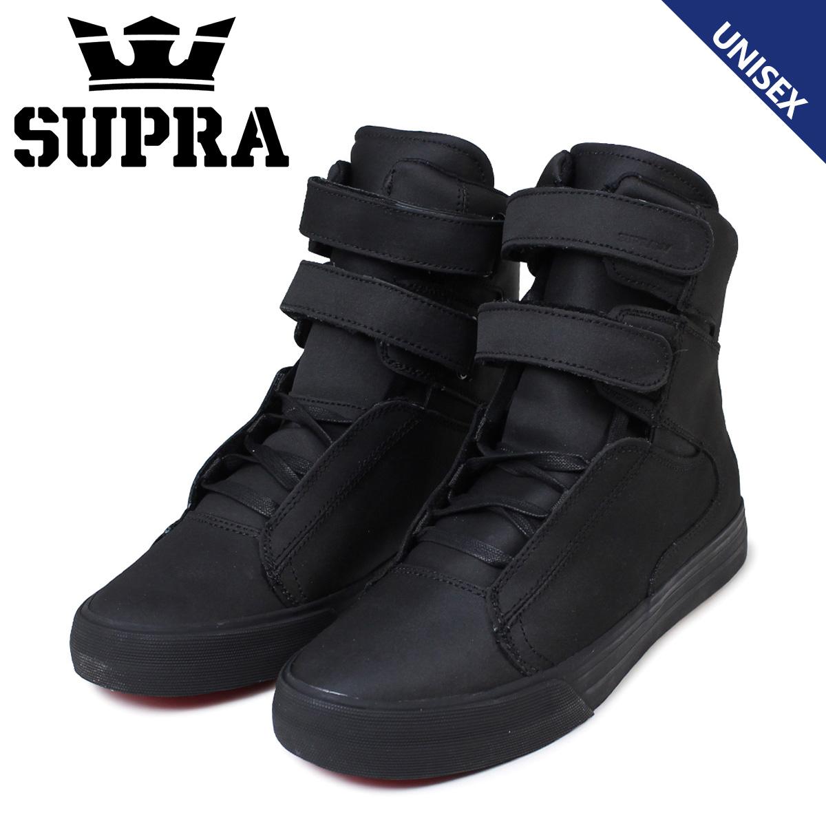 スープラ スニーカー メンズ レディース SUPRA SOCIETY II ソサエティ 2 S34137 ブラック