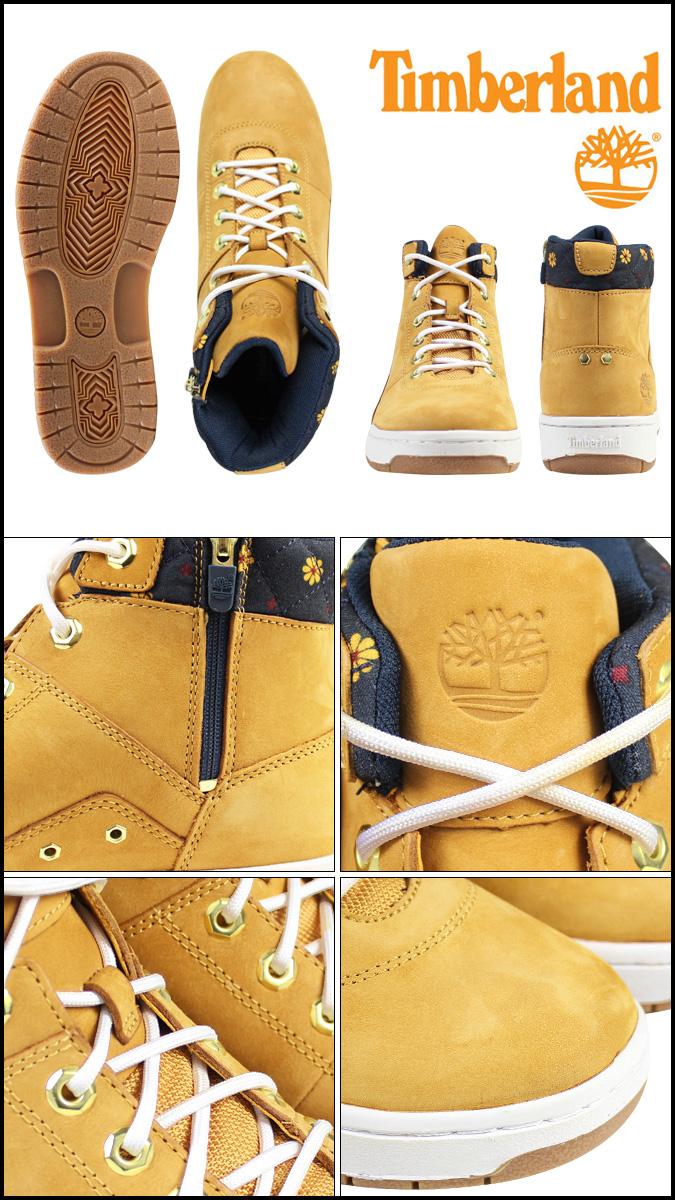 Timberland Timberland Bridgeton mid Zip Boots BRIDGTON MID ZIP BOOTS leather mens Womens sneakers 6352A wheatgrass unisex [12 / 17 new in stock] [regular]