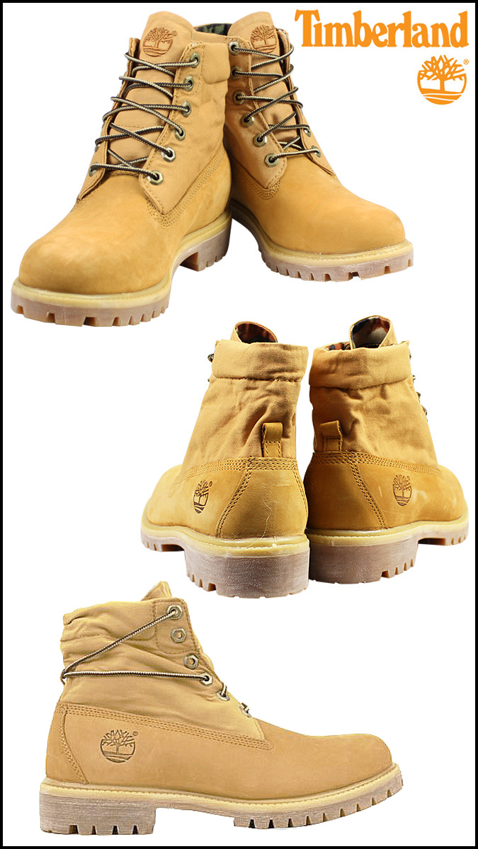 Timberland Timberland roll top boot AF BASIC ROLL TOP BOOTS M Wise nubuck work boots 6,835A カモウィートメンズレディース