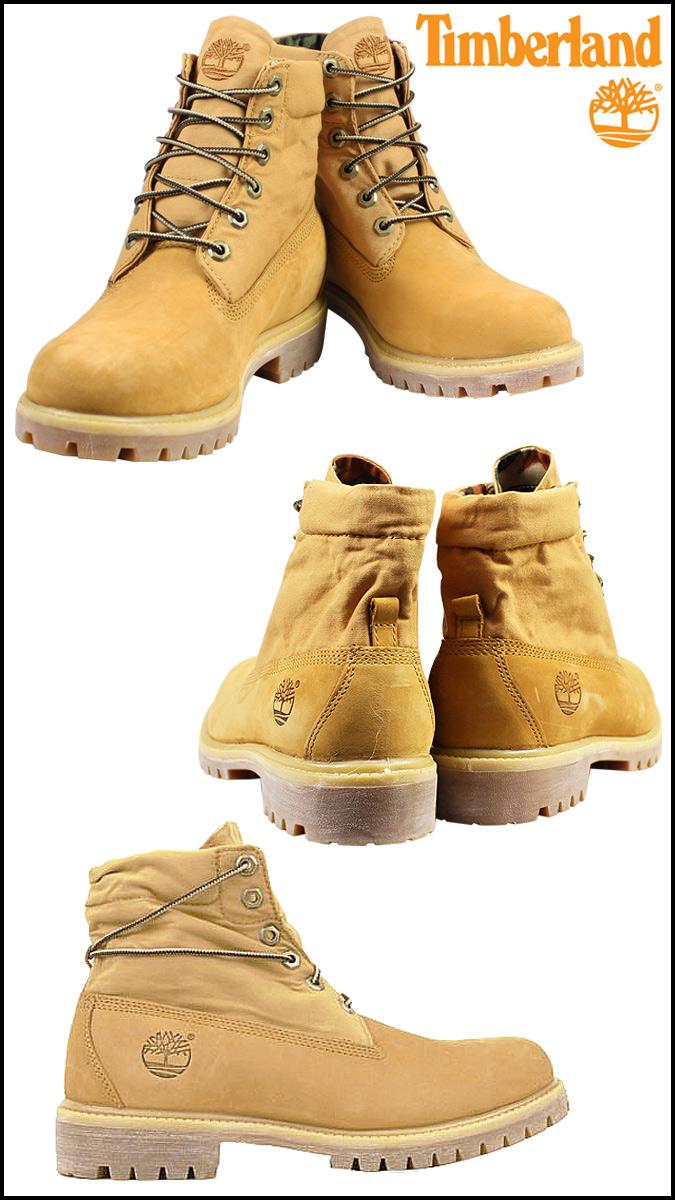 timberland men's roll top basic boot