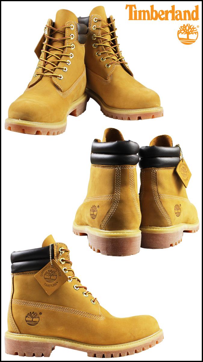 天伯伦天伯伦 6 英寸双靴子 6 英寸双衣领引导磨砂男装 73540 小麦