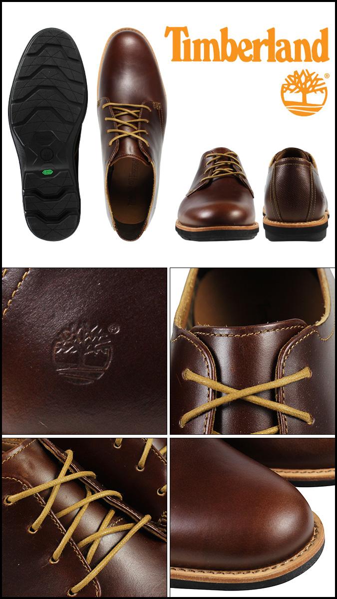 [SOLD OUT]timbarando Timberland地线守门员肯普顿牛津鞋EK KEMPTON OXFORD反毛皮9006B棕色人