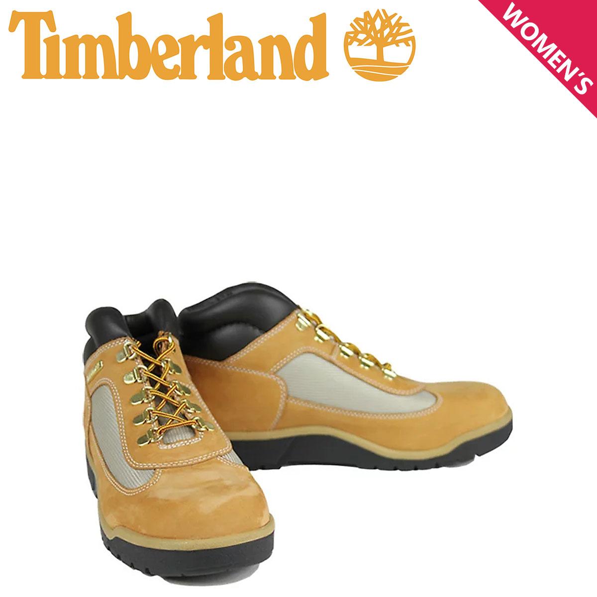 ティンバーランド レディース ブーツ Timberland JUNIOR FIELD BOOT 15945 防水