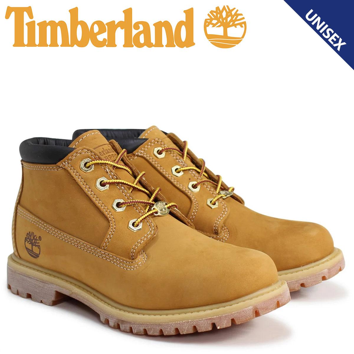 ティンバーランド Timberland チャッカ ブーツ レディース メンズ NELLIE CHUKKA DOUBLE WATERPLOOF BOOTS Wワイズ 防水 ウィート 23399