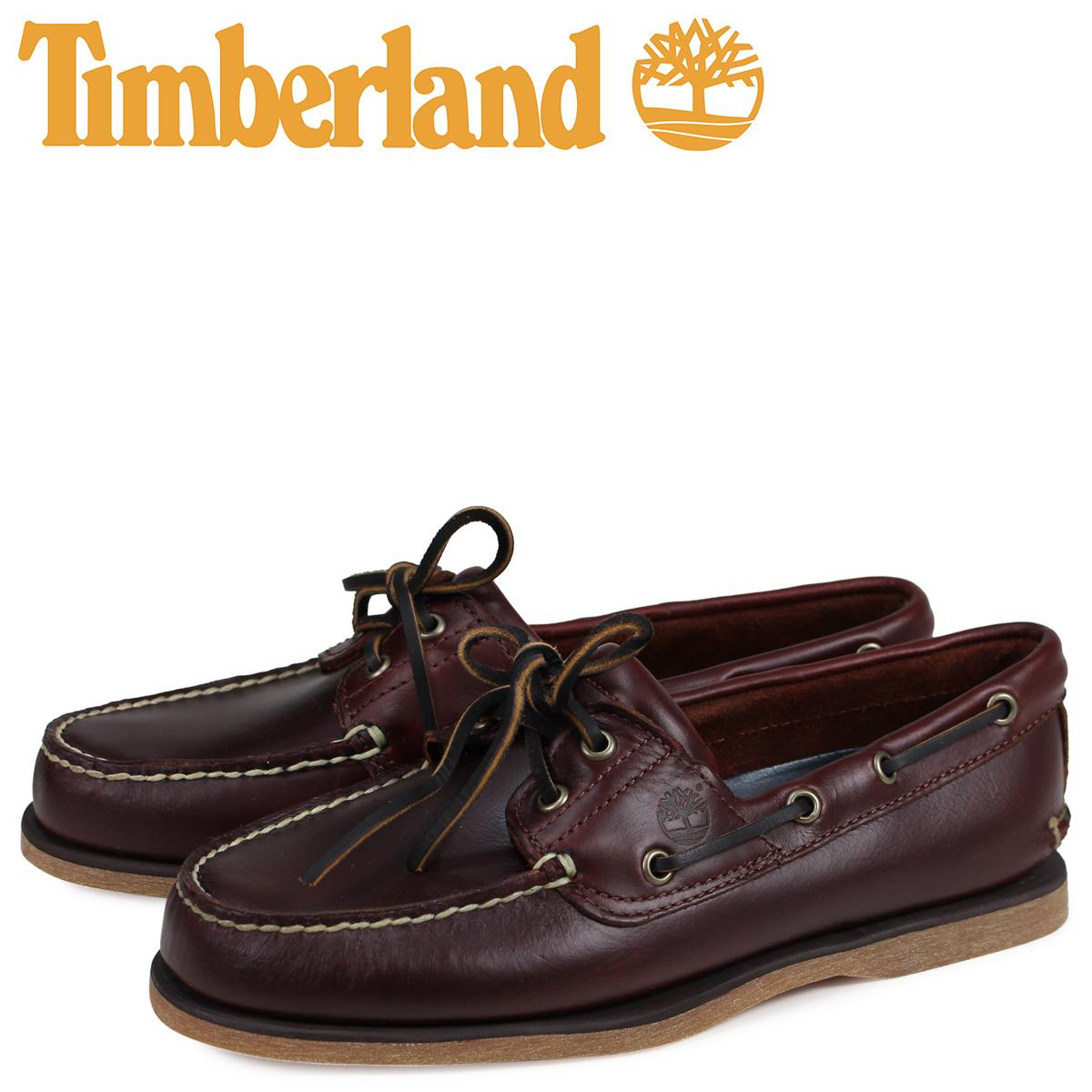 ティンバーランド Timberland デッキシューズ メンズ EK 2EYE BOAT SHOES 25077 ブラウン [3/16 再入荷]