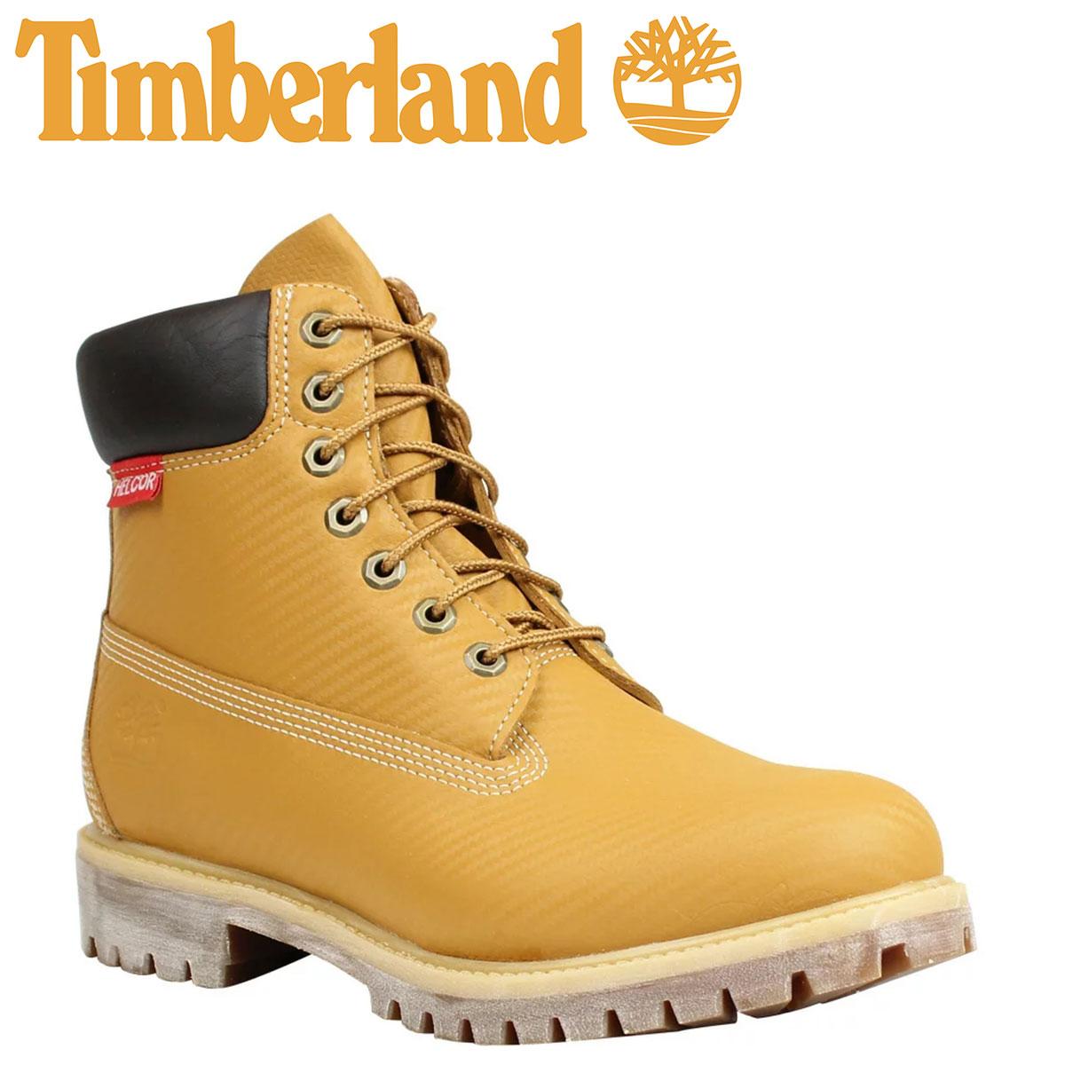 ティンバーランド ブーツ メンズ 6インチ Timberland 6INCH PRM HELCOR CARBON FIBER BOOT プレミアム ヘルカー カーボンファイバー 6607A Wワイズ ウィート