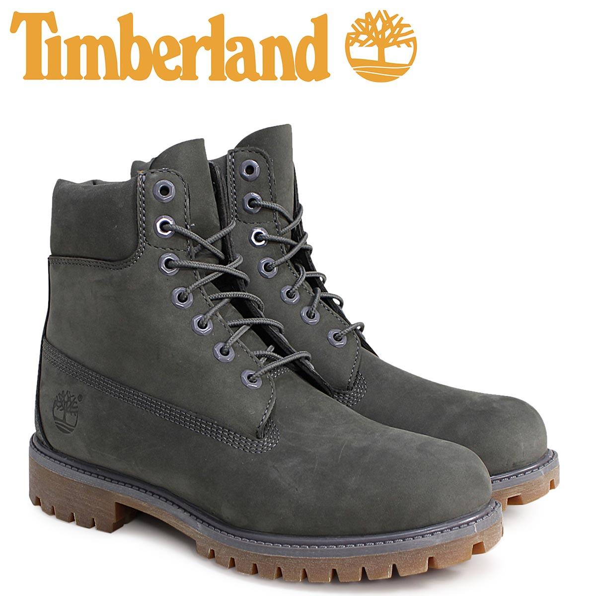 Timberland timberland 6 inches premium boots men 6INCHI 6-INCH PREMIUM  WATERPLOOF BOOTS A114K gray waterproofing  12 16 Shinnyu load  863b814928fd