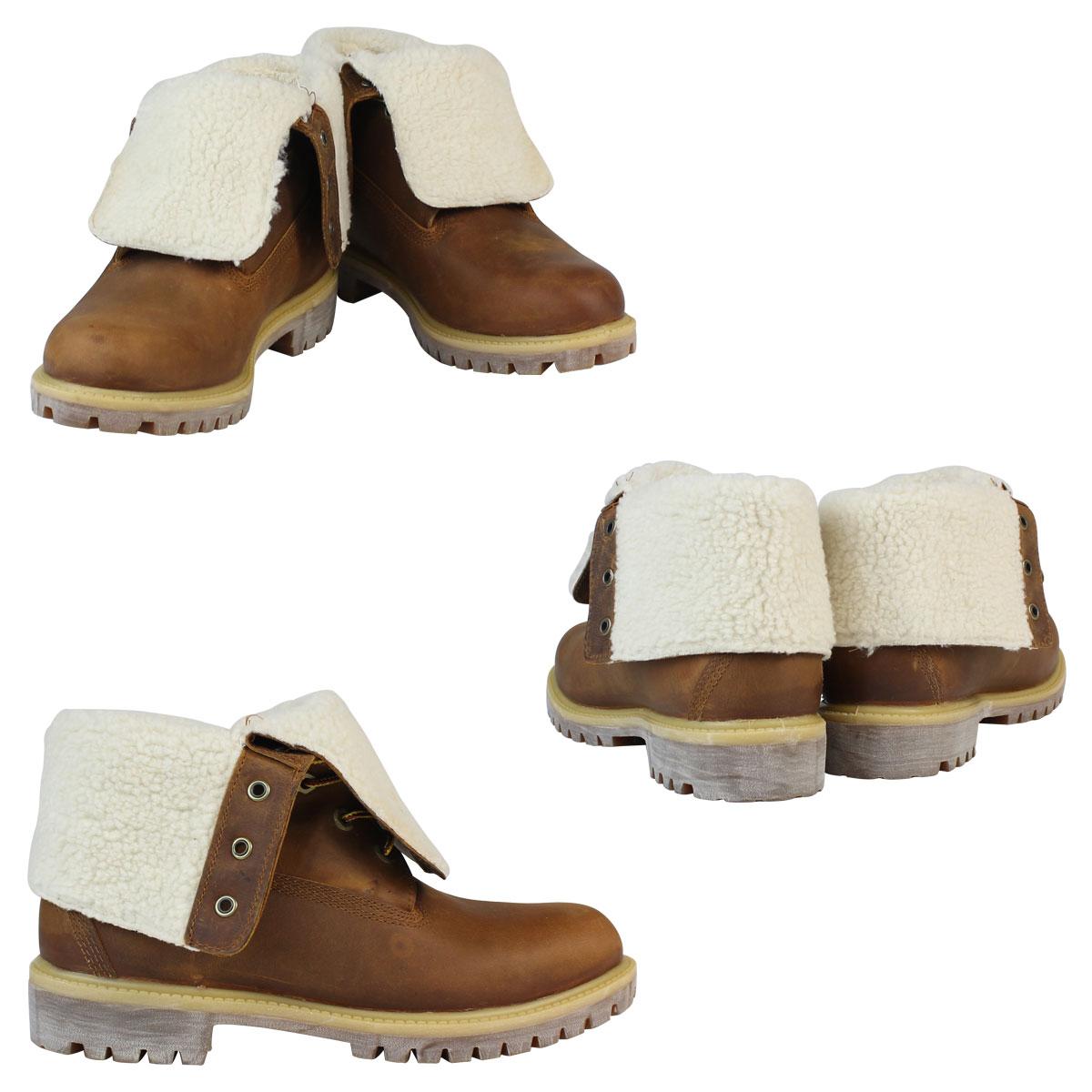 4dd4bba6bed Timberland Timberland boots men HERITAGE FOLD-DOWN WARM FLEECE LINED BOOT  ヘリテージフォルドダウンフリースライン A118Y brown