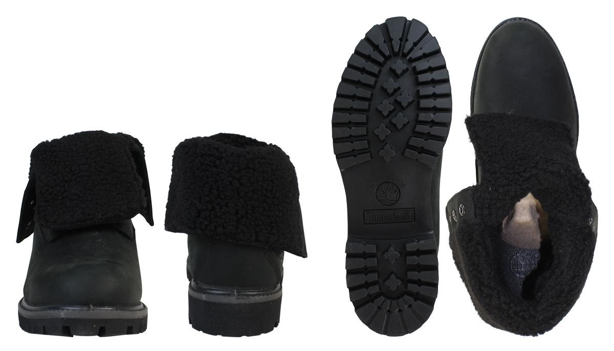 Timberland Botas Abatibles - Negro De Las Mujeres rZBjJ