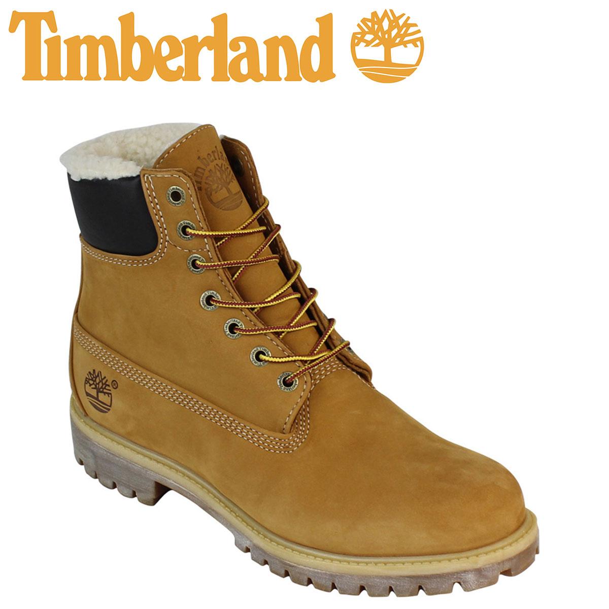【最大2000円OFFクーポン】 ティンバーランド ブーツ メンズ 6インチ Timberland 6INCH WARM LINED BOOTS 6インチ ウォーム ラインド A13GA ウィート