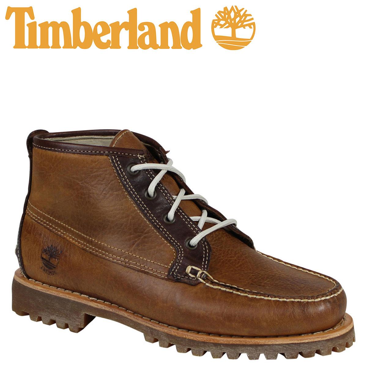 ティンバーランド チャッカ メンズ Timberland ブーツ AUTHENTICS A17UT Wワイズ ブラウン