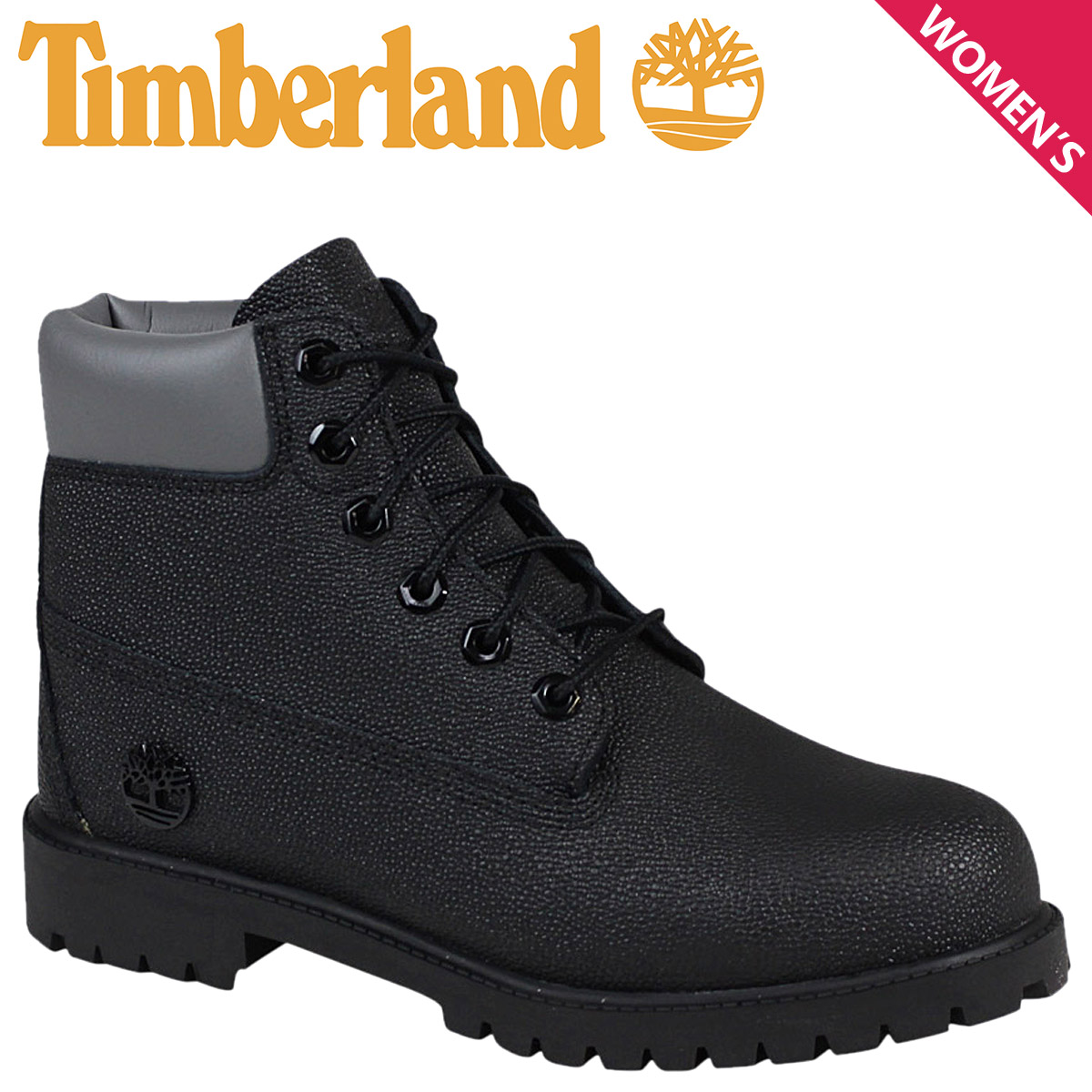 Boots 6 In Premium Black Jr - Timberland