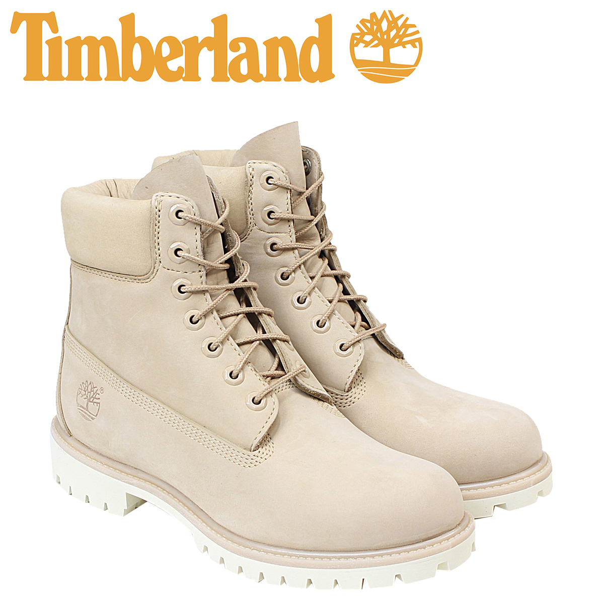 6 inches of Timberland men's timberland boots premium 6INCHI 6-INCH PREMIUM WATERPLOOF BOOTS A1BBL W Wise beige waterproofing [1/31 Shinnyu load]