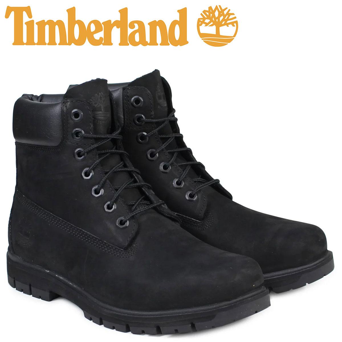 ティンバーランド ブーツ メンズ 6インチ Timberland RADFORD 6INCH PREMIUM BOOT A1JI2 ウォータープルーフ Wワイズ 防水 ブラック