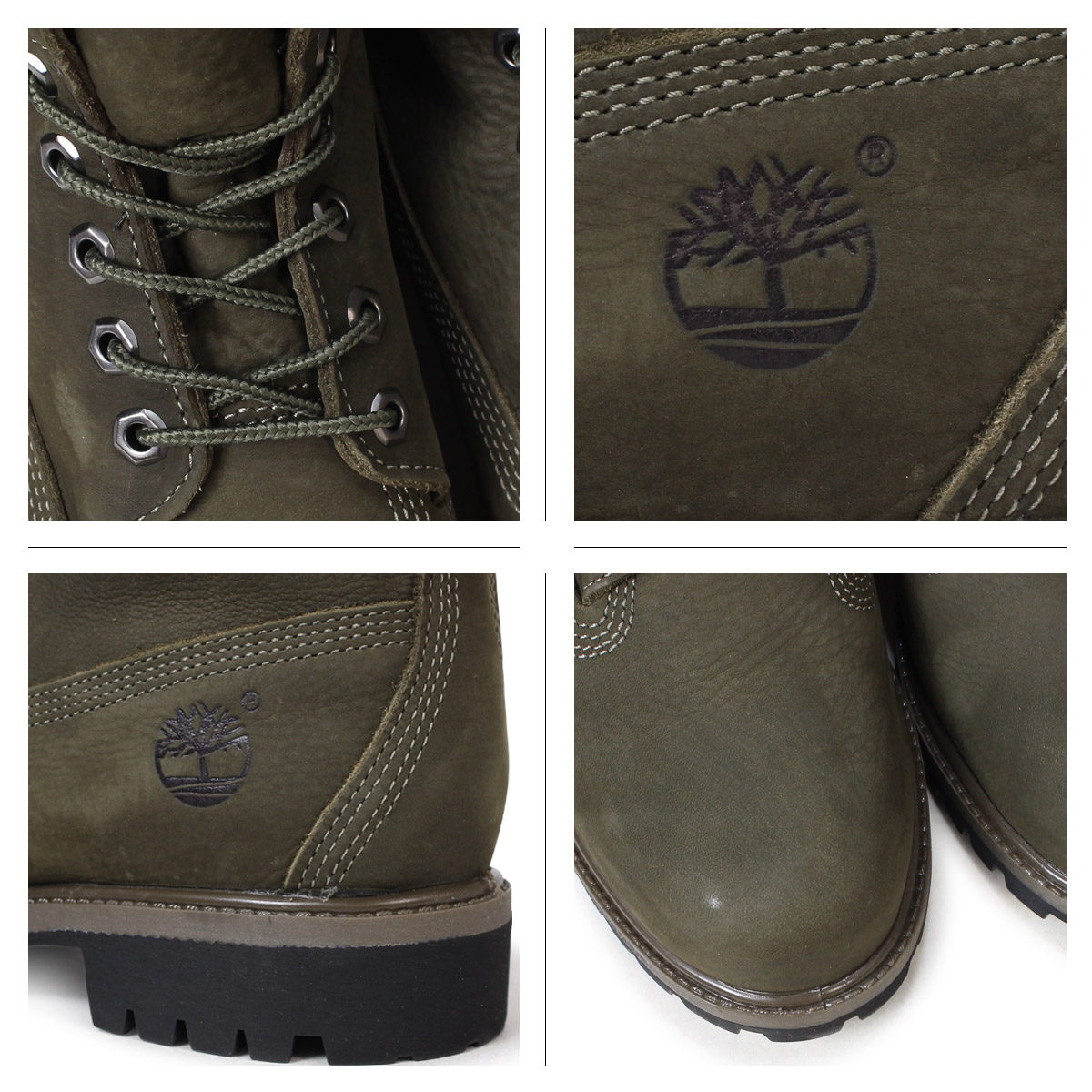 6 inches of Timberland boots men Timberland 6INCH PREMIUM BOOTS A1M47 W Wise premium waterproofing dark brown