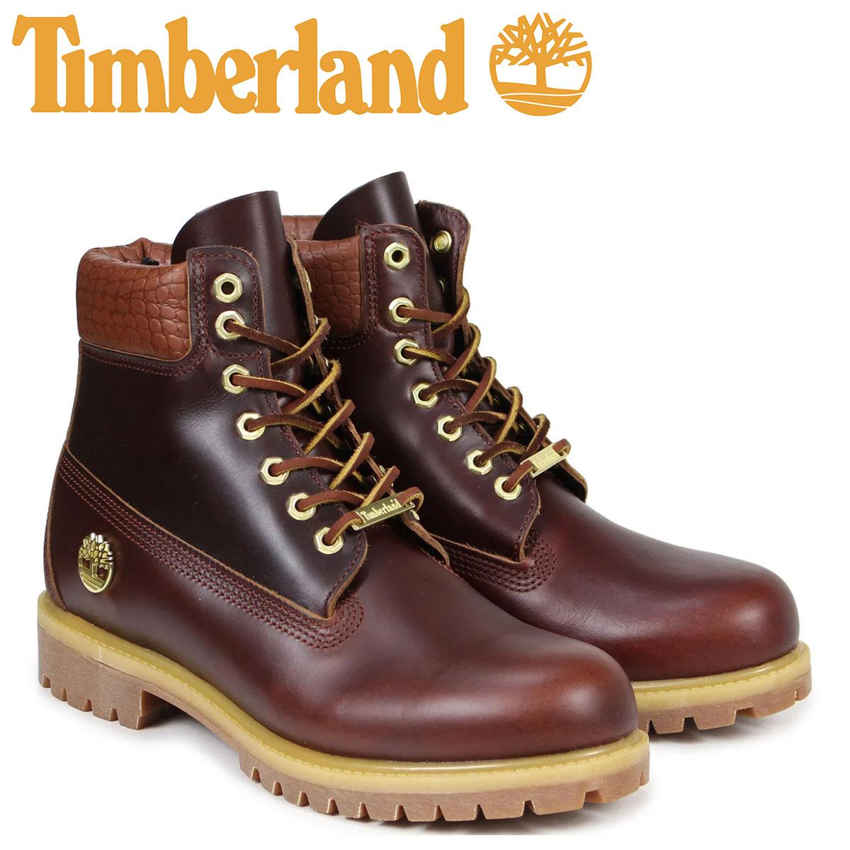 ティンバーランド ブーツ メンズ 6インチ Timberland 6INCH PREMIUM BOOT A1P9P Wワイズ プレミアム ブラウン