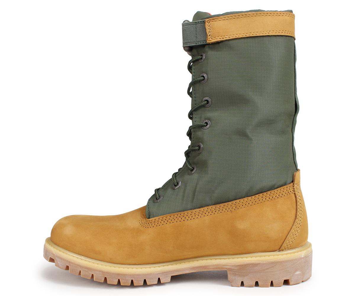 ティンバーランド Timberland ブーツ メンズ 6インチ 6 INCH PREMIUM GAITER BOOTS A1QY8 Wワイズ ダークグリーンnO0P8wk