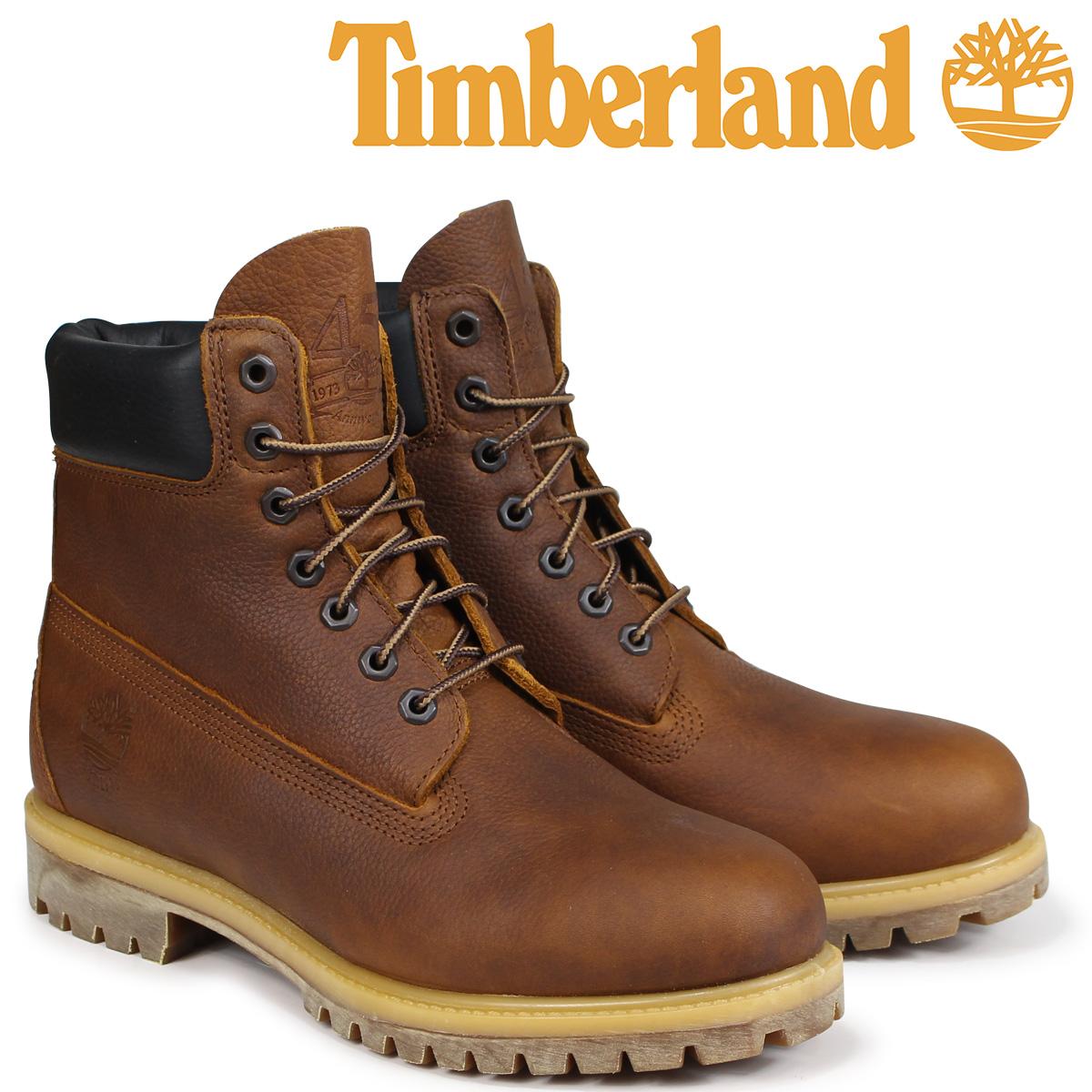 ティンバーランド ブーツ メンズ 6インチ Timberland HERITAGE 6-INCH PREMIUM BOOTS A1R18 Wワイズ ブラウン [9/5 新入荷]