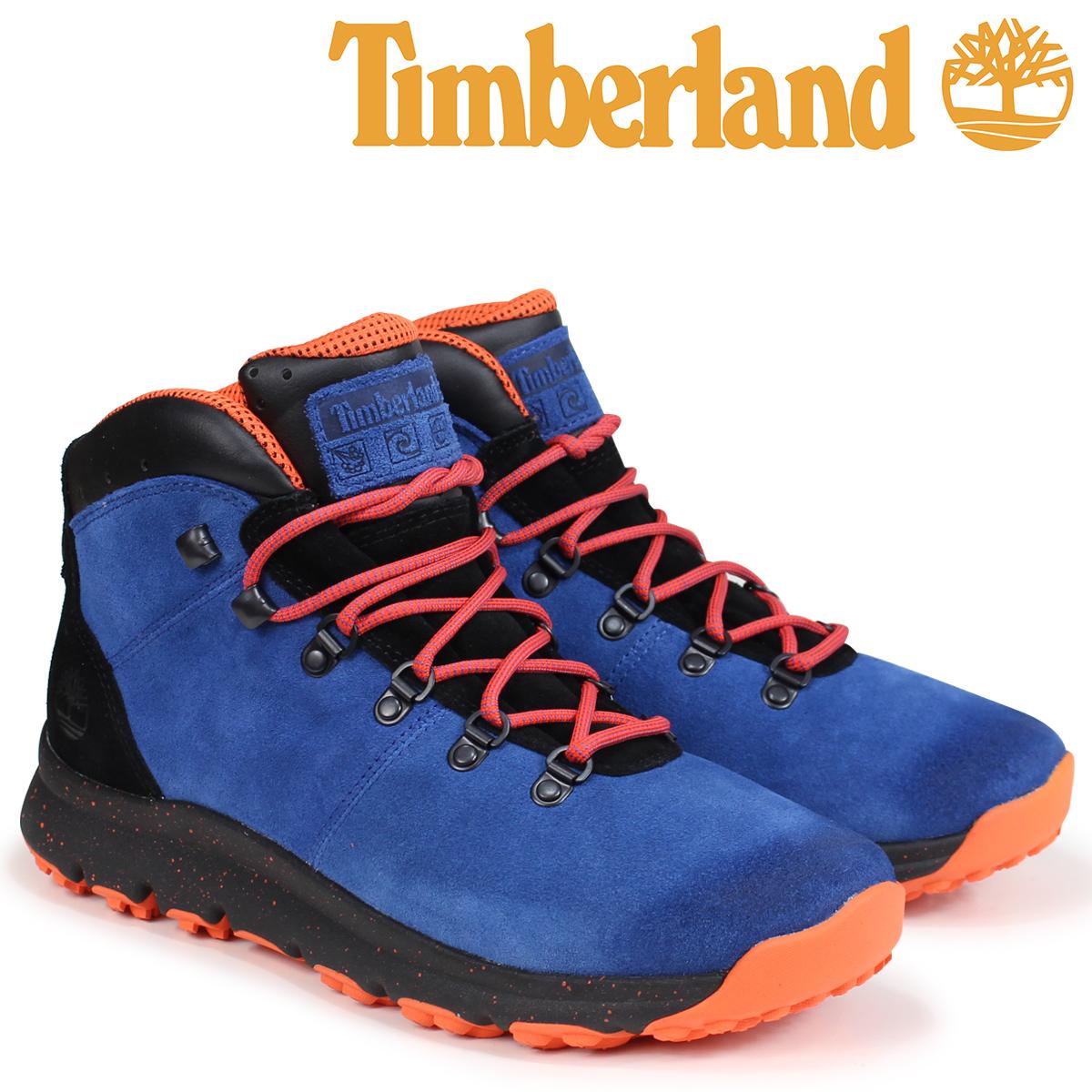 超格安価格 ティンバーランド ブーツ メンズ Timberland WORLD WORLD HIKER [9/5 A1RFR ブーツ Wワイズ ブルー [9/5 新入荷], ツールショップキカイヤ:e949d234 --- pokemongo-mtm.xyz