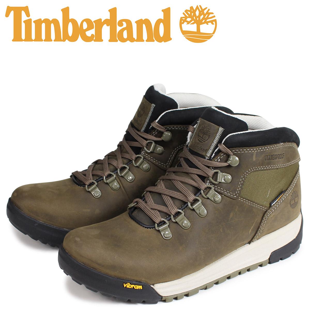 ティンバーランド Timberland ブーツ GT スクランブル メンズ SCRAMBLE MID BOOT Wワイズ オリーブ A1RKS