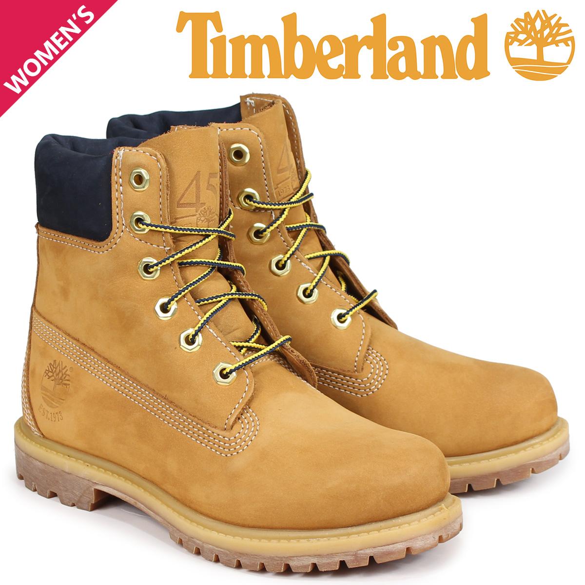 ティンバーランド Timberland ブーツ 6インチ レディース 6-INCH PREMIUM BOOTS Wワイズ ウィート A1SI1