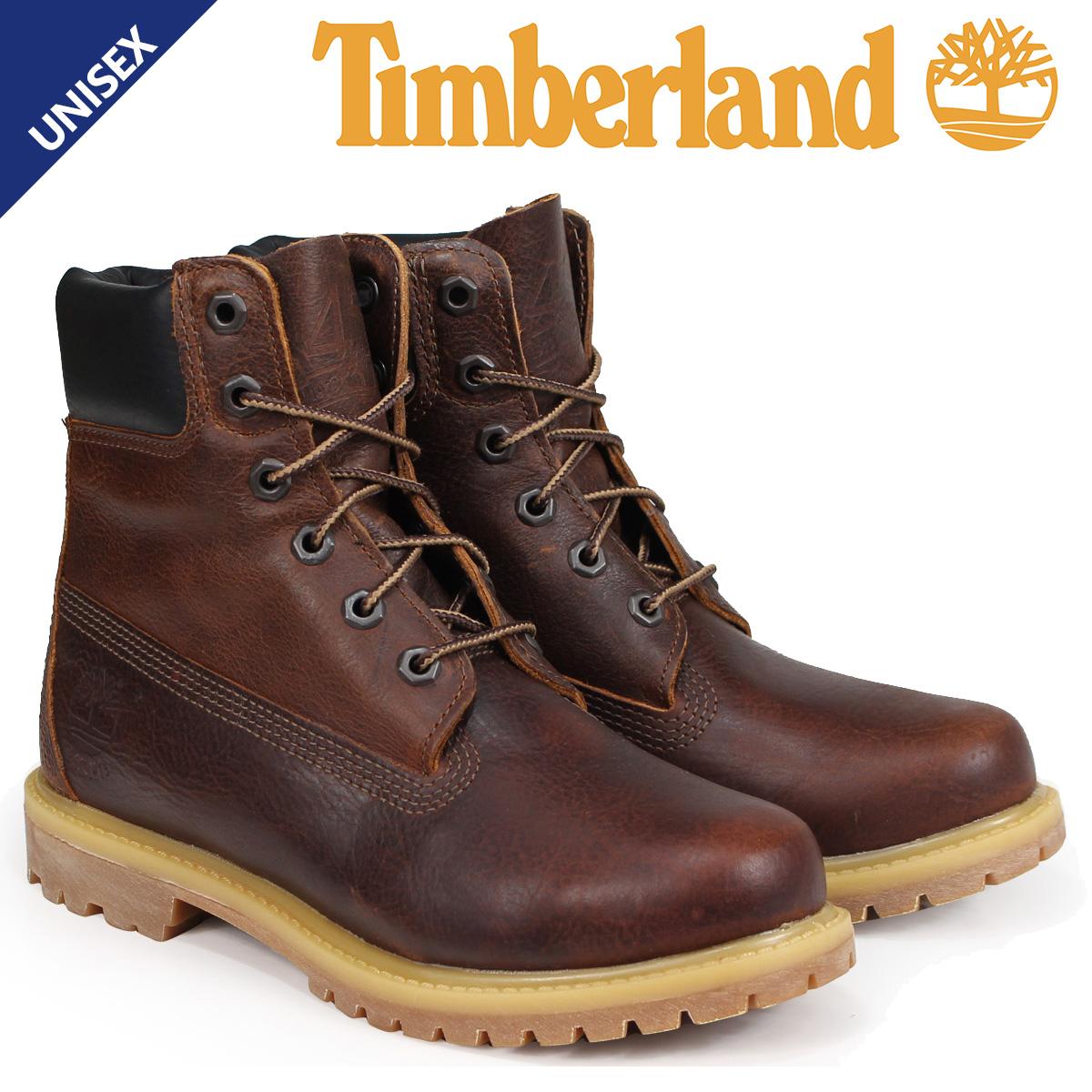 ティンバーランド ブーツ レディース 6インチ Timberland 6-INCH PREMIUM BOOTS A1TLM Wワイズ ブラウン [9/5 新入荷]