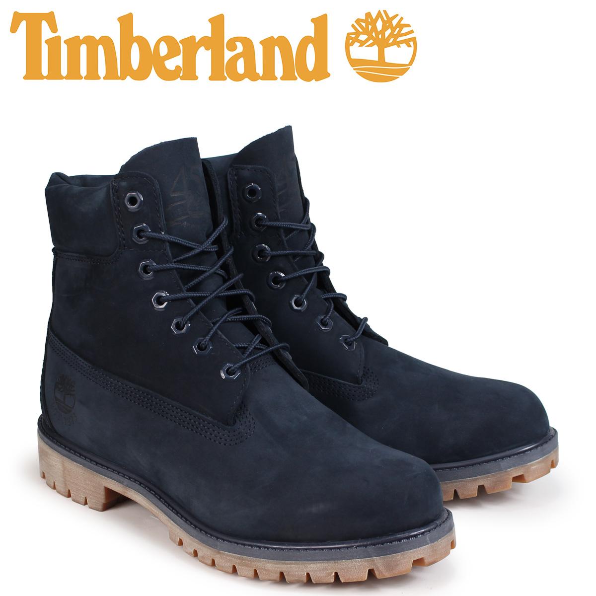 ティンバーランド Timberland ブーツ メンズ 6インチ 6-INCH PREMIUM BOOTS A1TSZ Wワイズ ネイビー
