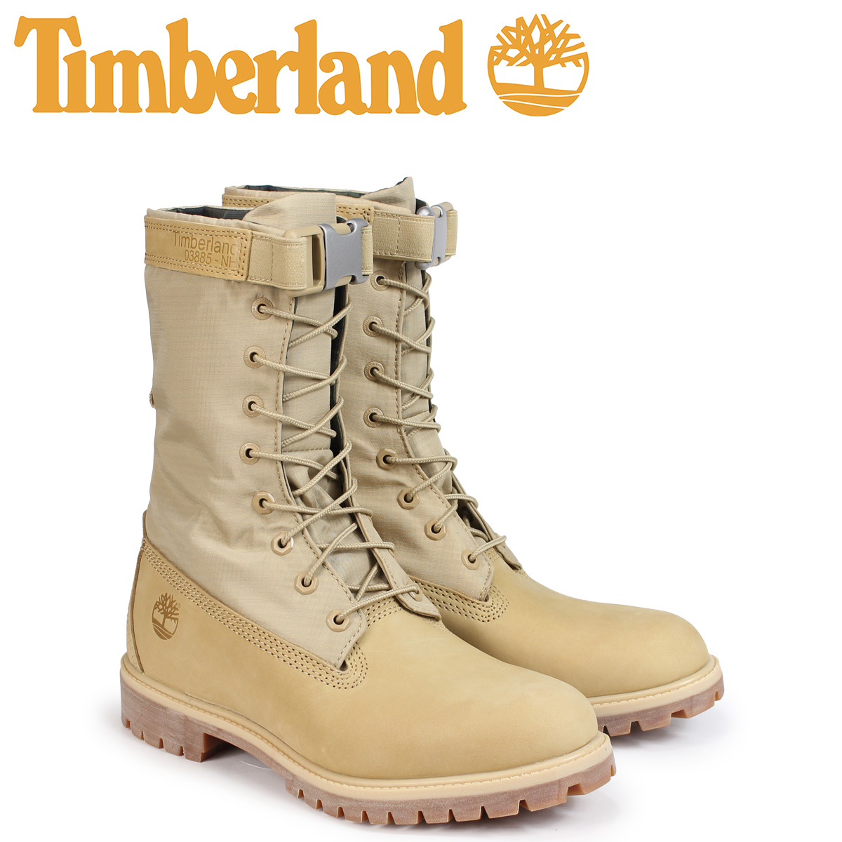 ティンバーランド ブーツ メンズ 6インチ Timberland 6-INCH PREMIUM GAITER BOOTS A1UBE Wワイズ ライトベージュ [10/23 新入荷]