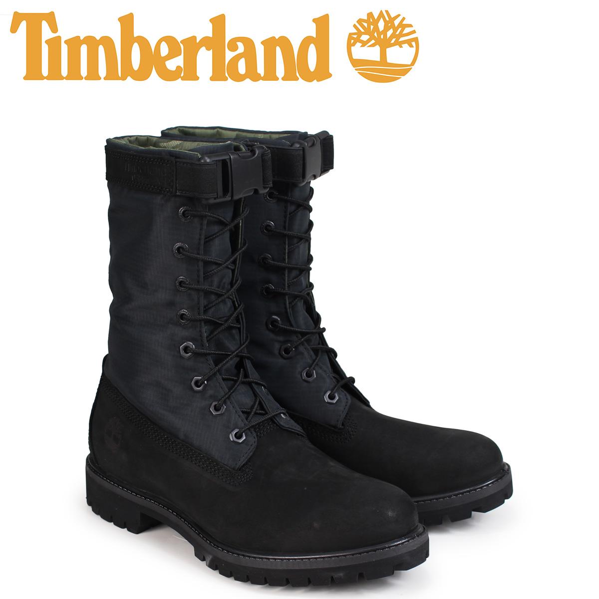 ティンバーランド Timberland ブーツ メンズ 6インチ 6-INCH PREMIUM GAITER BOOTS A1UBP Wワイズ ブラック