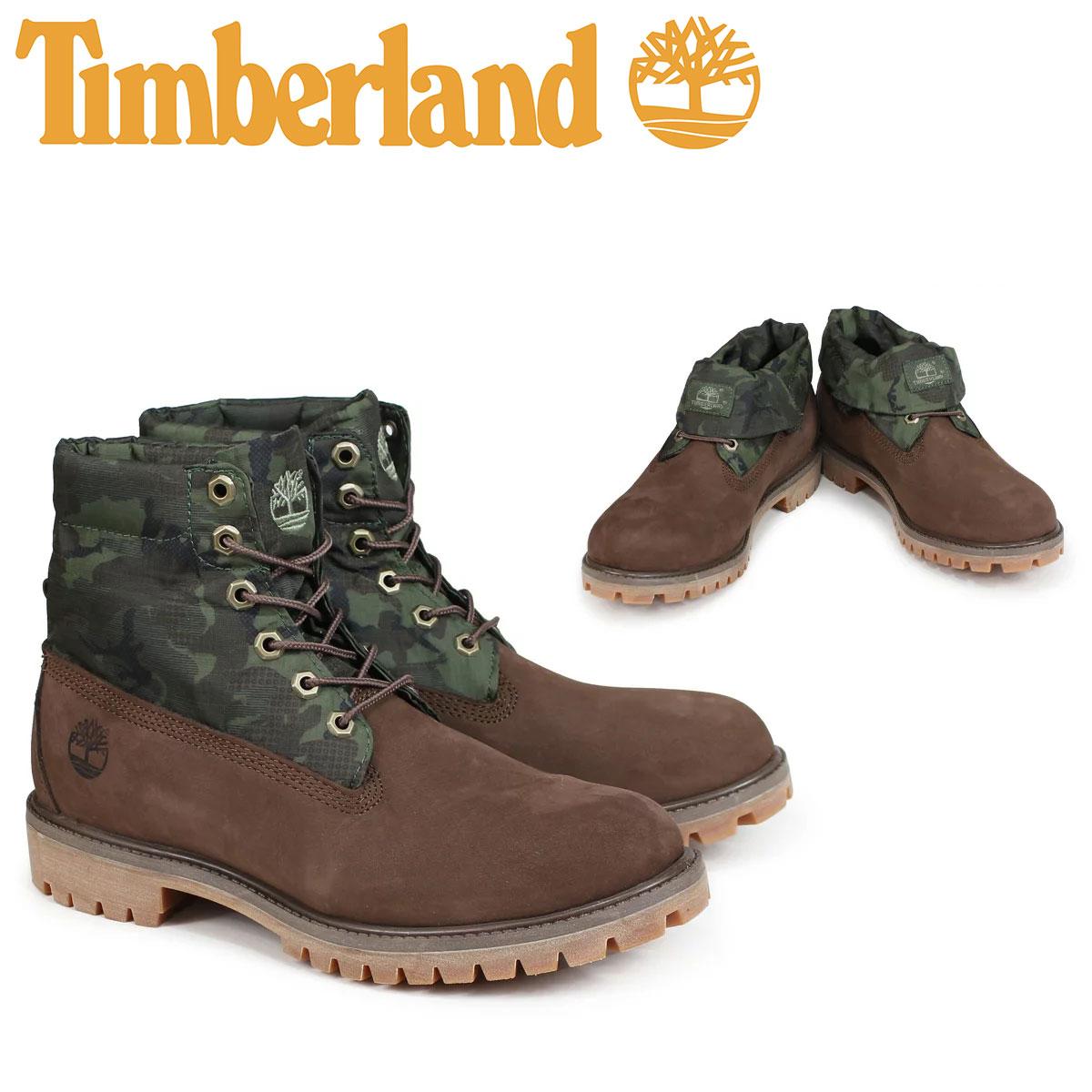 逆輸入 ティンバーランド ロールトップ TOP ブーツ Timberland メンズ ROLL TOP A1UCN ROLL A1UCN Wワイズ ブラウン, オカヤシ:3a75a956 --- business.personalco5.dominiotemporario.com