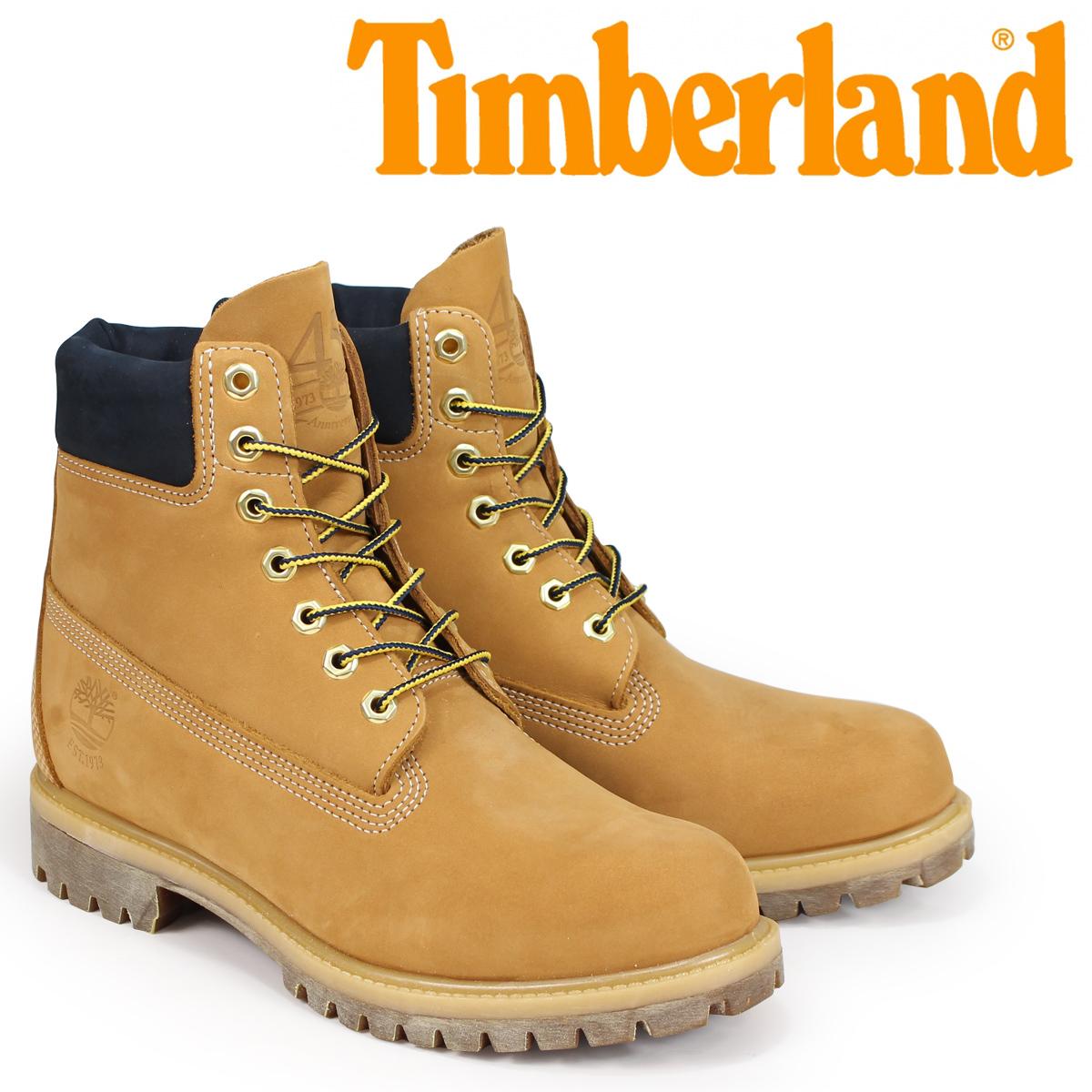 ティンバーランド Timberland ブーツ 6インチ メンズ 6-INCH WATERPROOF PREMIUM BOOTS Wワイズ ウィート A1VXW