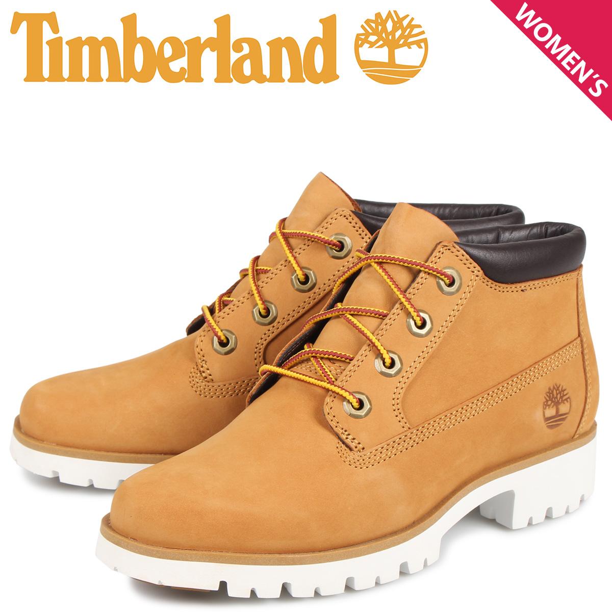 ティンバーランド Timberland ブーツ レディース チャッカ クラシック ライト ネリー WOMENS CLASSIC LIGHT NELLY CHUKKA BOOTS ウィート A1XF7