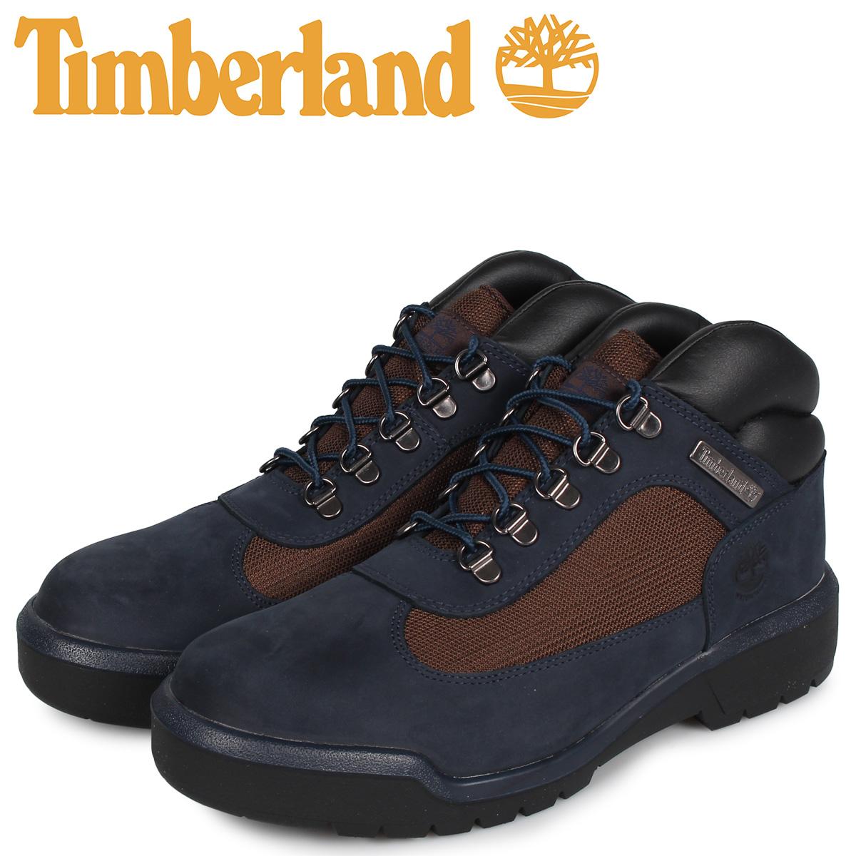 ティンバーランド Timberland ブーツ フィールドブーツ メンズ ウォータープルーフ FIELD BOOT F/L WATERPROOF ネイビー A1XMX