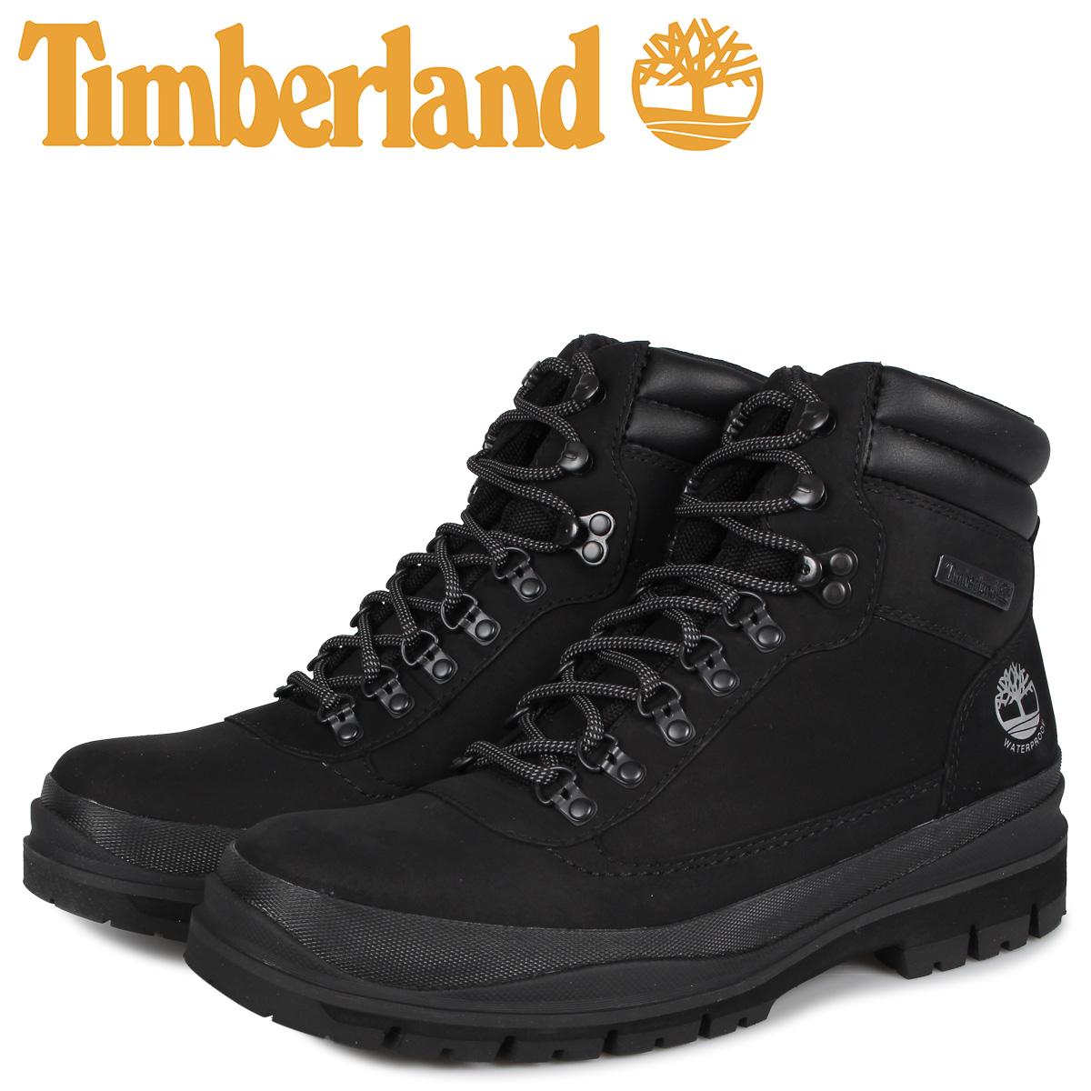 ティンバーランド Timberland ブーツ メンズ ウォータープルーフ フィールドトレッカー FIELD TREKKER ブラック 黒 A1YWV