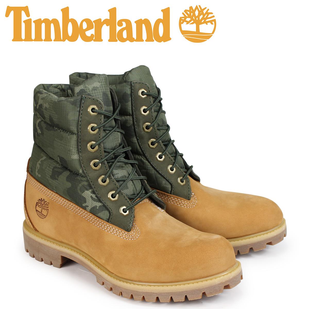 ティンバーランド ブーツ メンズ 6インチ Timberland 6-INCH PREMIUM PUFF BOOTS A1ZRH Wワイズ ウィート [10/23 新入荷]