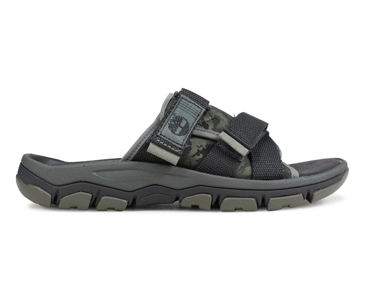 Timberland Timberland sandals slide sandals men ROSLINDALE SLIDE camouflage dark green A1ZSF