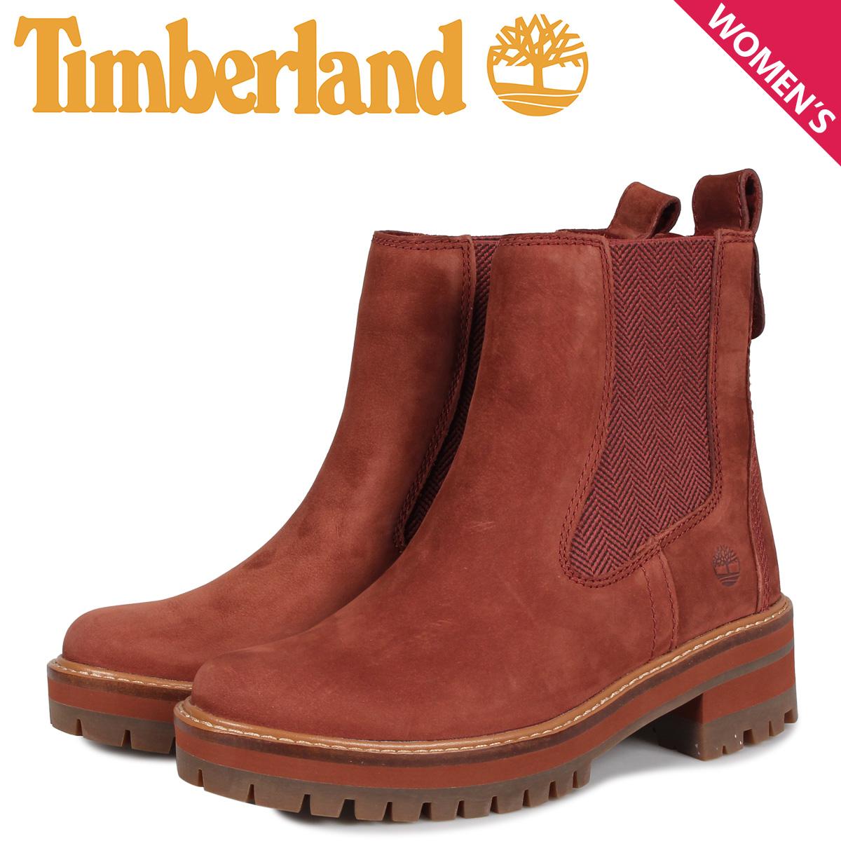 ティンバーランド Timberland ブーツ レディース チェルシー クールマイヨール バレー WOMENS COURMAYEUR VALLEY CHELSEA BOOTS ブラウン A23WJ