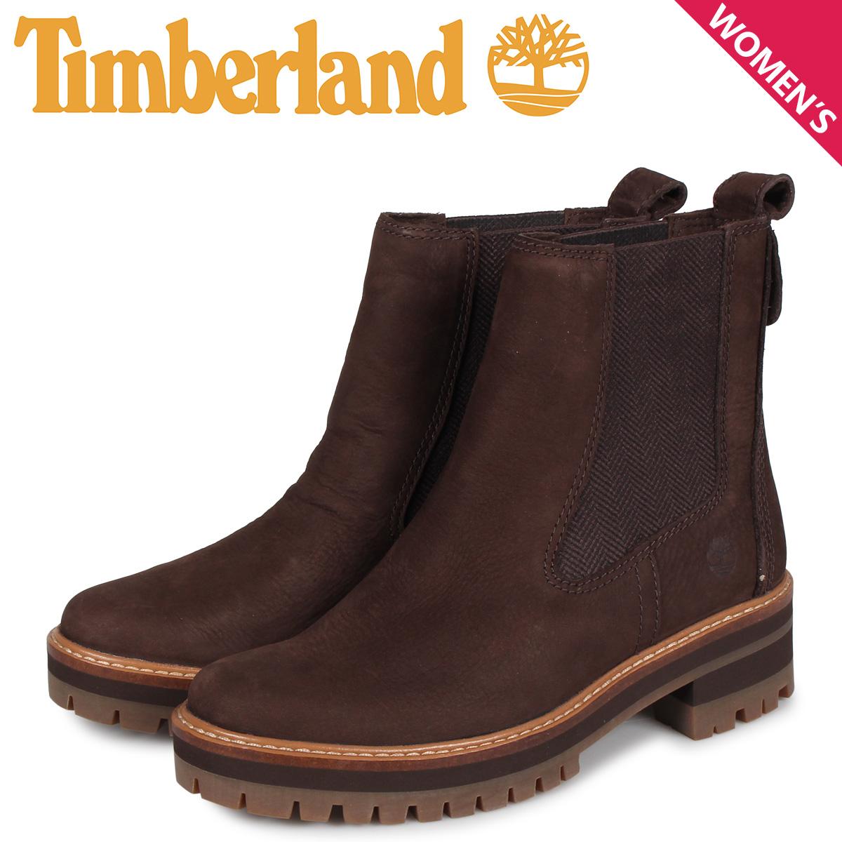 ティンバーランド Timberland ブーツ レディース チェルシー サイドゴア クールマイヨール バレー WOMENS COURMAYEUR VALLEY CHELSEA BOOTS ダーク ブラウン A23WU