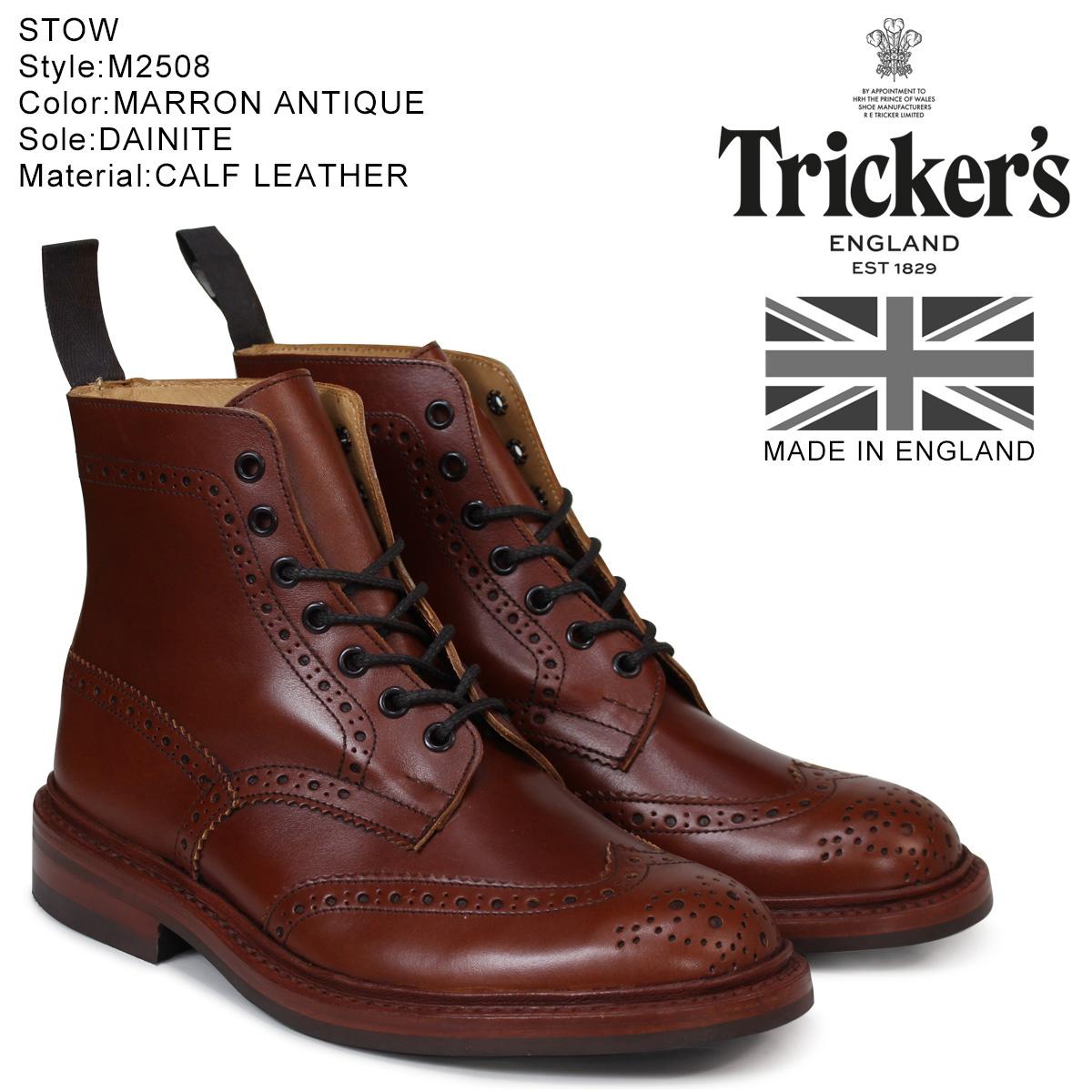 トリッカーズ Trickers カントリーブーツ STOW M5634 5ワイズ メンズ