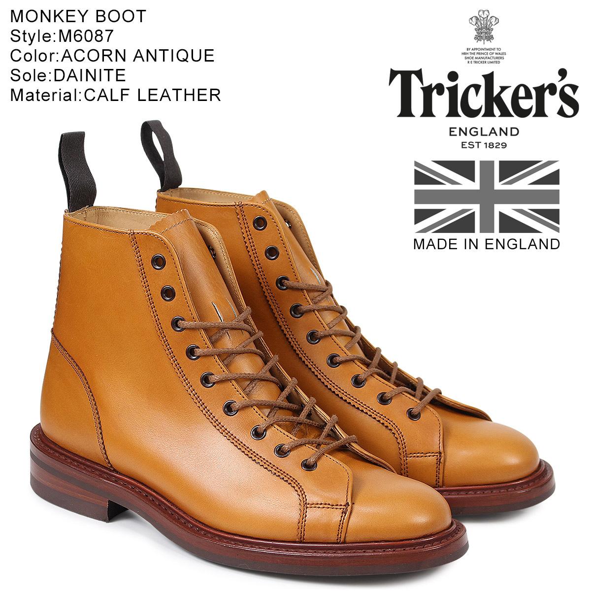 【最大2000円OFFクーポン】 トリッカーズ Tricker's モンキーブーツ MONKEY BOOT M6087 5ワイズ メンズ