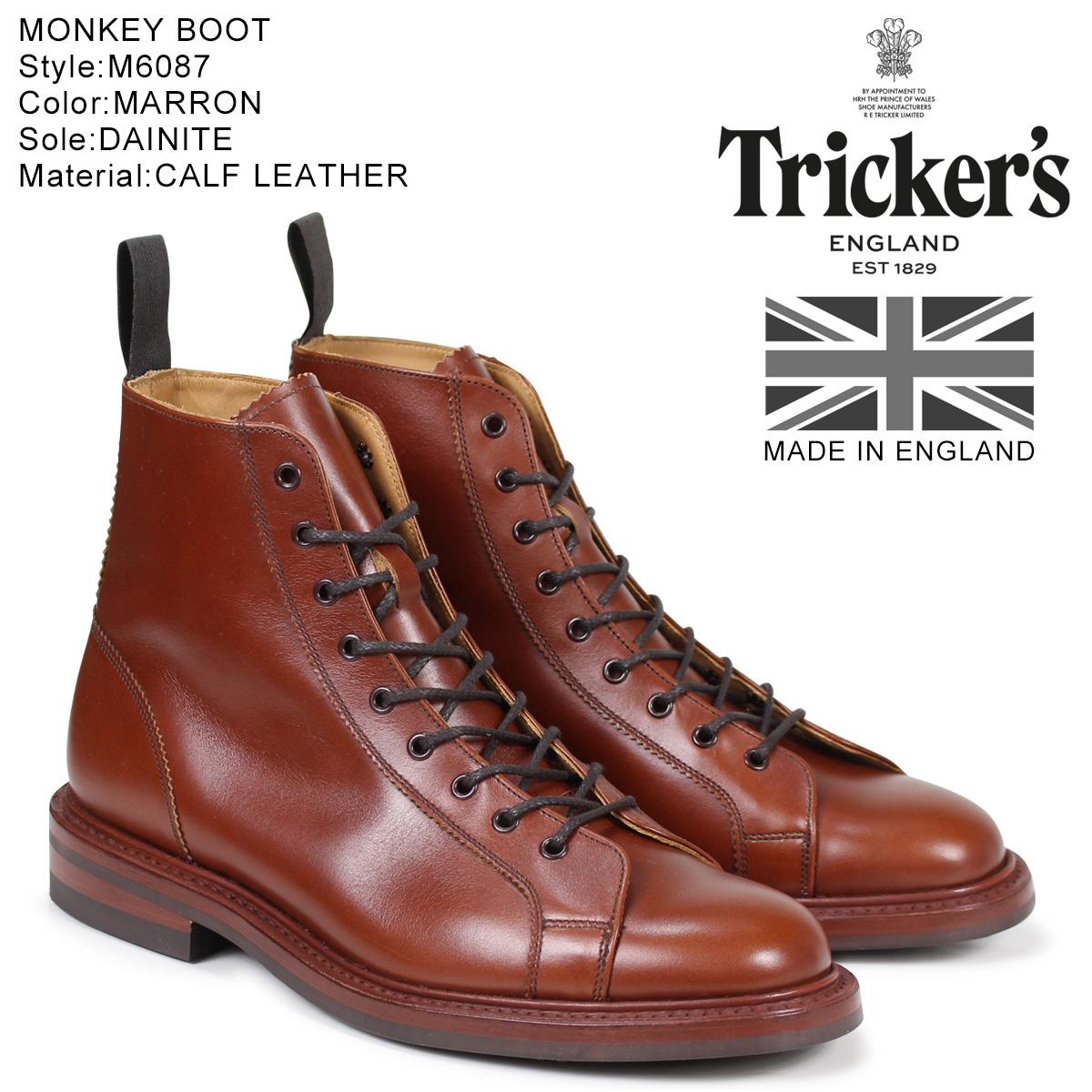 【お買い物マラソンSALE】 トリッカーズ Trickers モンキーブーツ MONKEY BOOT M6087 5ワイズ メンズ
