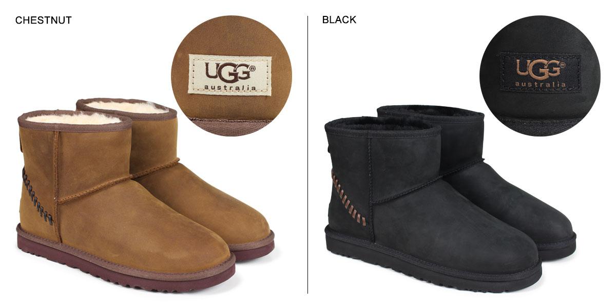 UGG UGG men's classic mini Deco boots MENS CLASSIC MINI DECO Shearling Sheepskin 2014, new 1003945 2 color [8 / 11 new stock] [regular] 02P20Sep14