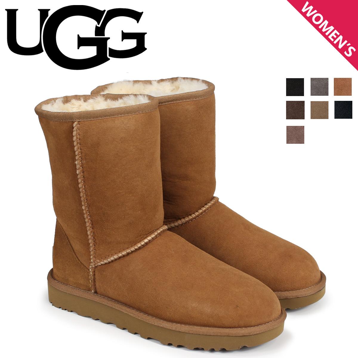 UGG アグ ムートン ブーツ クラシック ショート WOMENS CLASSIC SHORT 1016223 レディース [9/12 新入荷]