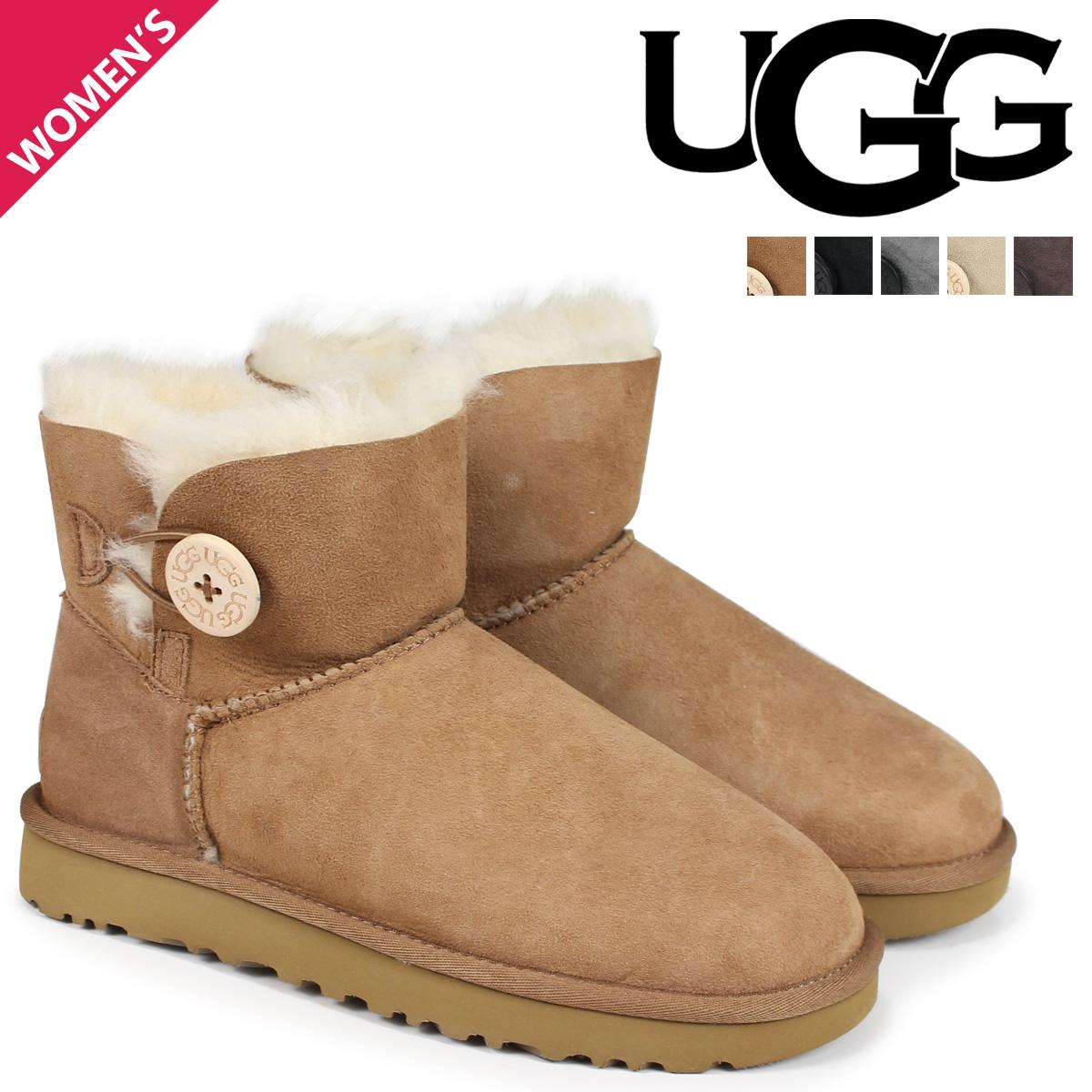 dcd1535a128 SneaK Online Shop: UGG アグムートンブーツベイリーボタン 2 mini ...
