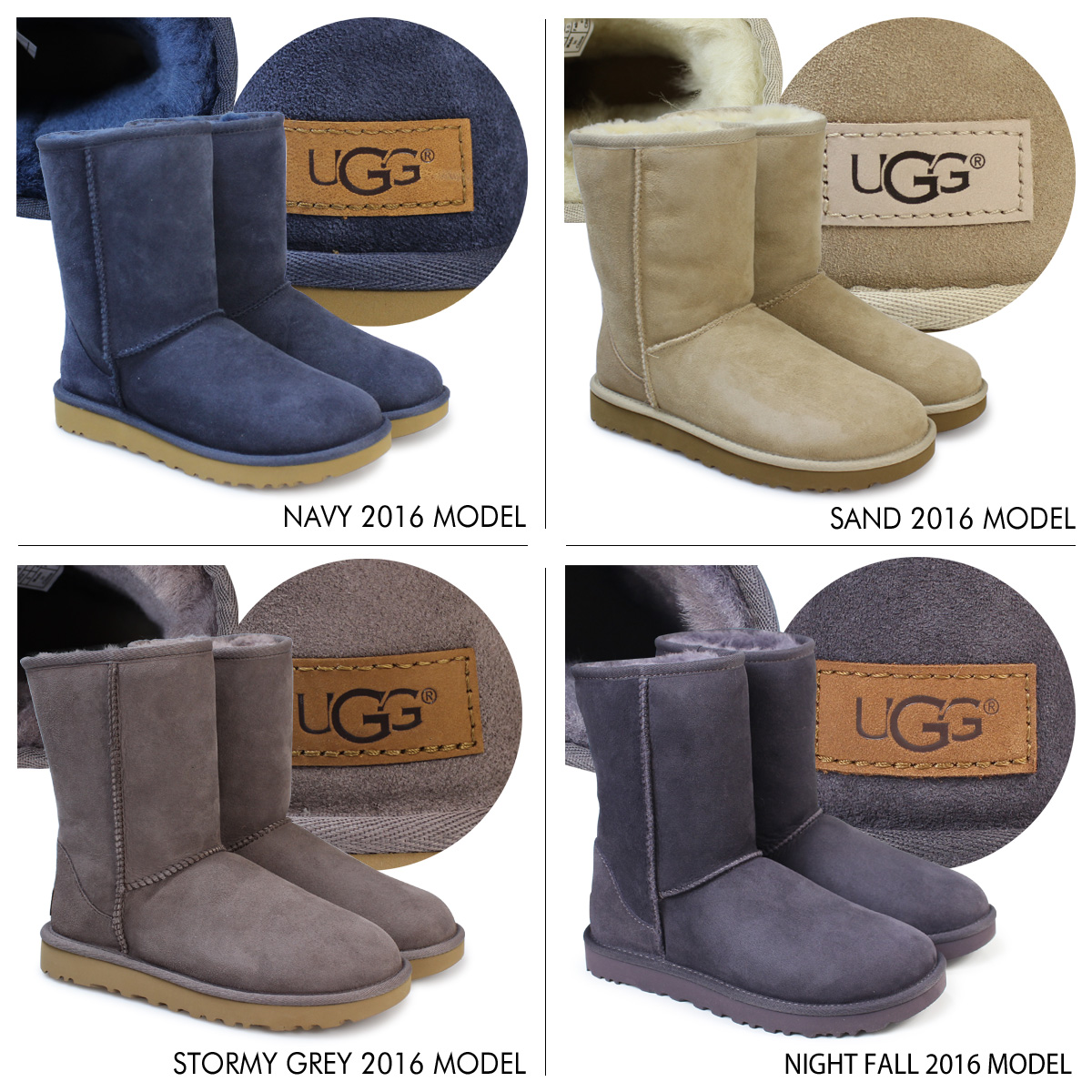 «Reservation products» «10 / 10 about stock plans-2» ★ 45% off ★ UGG Ugg Classic short boots 5825 WOMENS CLASSIC SHORT Sheepskin women's 2013 FALL new