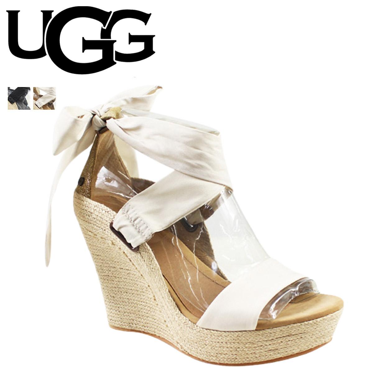 UGG アグ サンダル ウェッジサンダル ジュール WOMENS JULES 1008353 1008354 レザー ジュート レディース